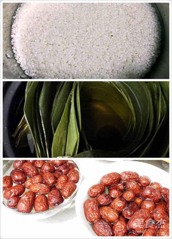 蜜枣粽子的做法大全
