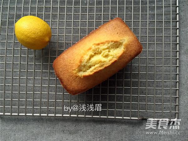 柠檬磅蛋糕的制作