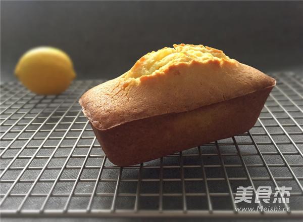 柠檬磅蛋糕的制作方法
