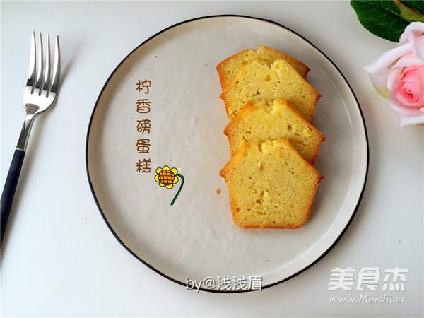 柠檬磅蛋糕的做法大全