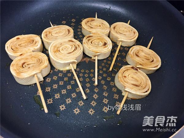 格琳诺尔香煎豆皮卷怎样做