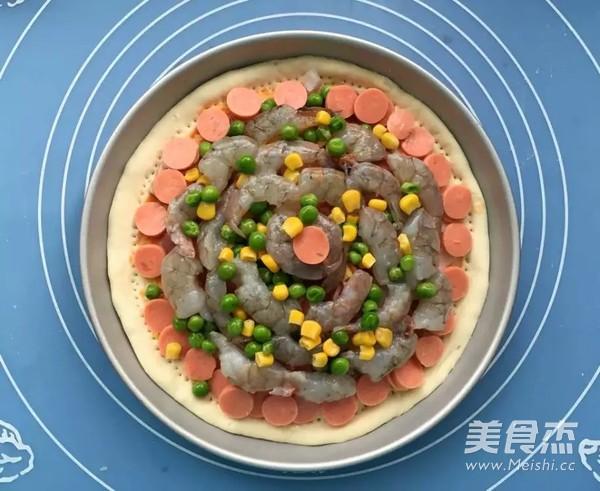 鲜虾培根披萨怎么做