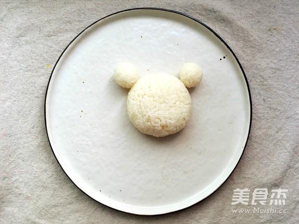 咖喱青蛙饭团的做法图解
