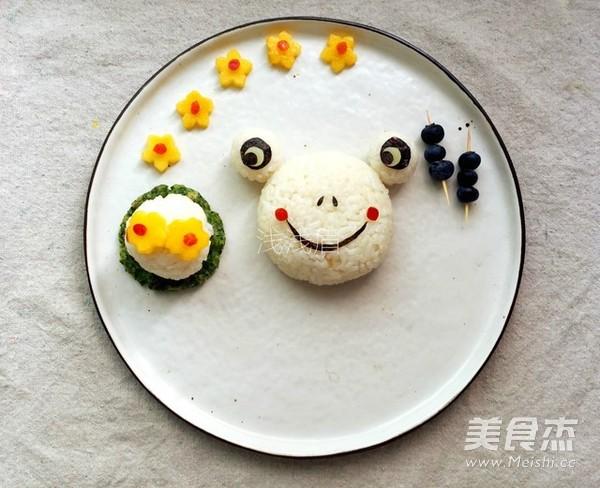 咖喱青蛙饭团的简单做法