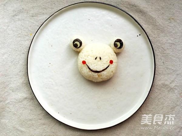 咖喱青蛙饭团的家常做法