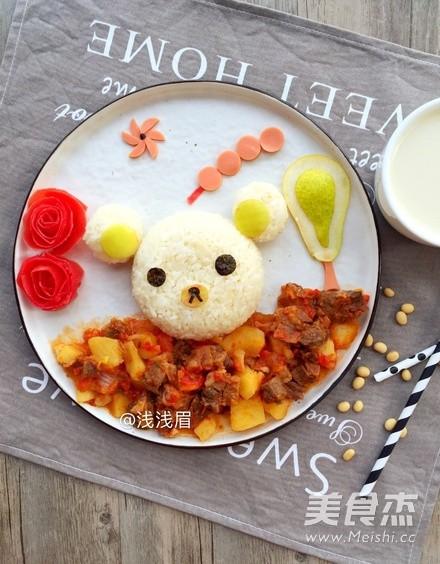 小熊饭团怎么吃