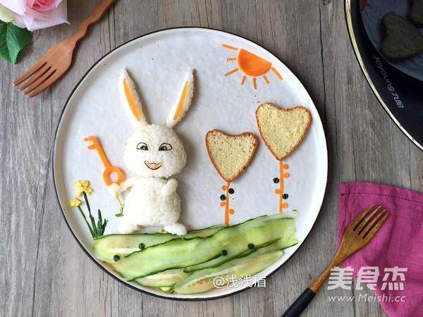 萌萌的爱宠饭团,让孩子爱上素食怎样煸