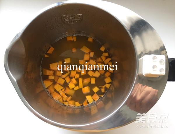 美味南瓜米糊的简单做法