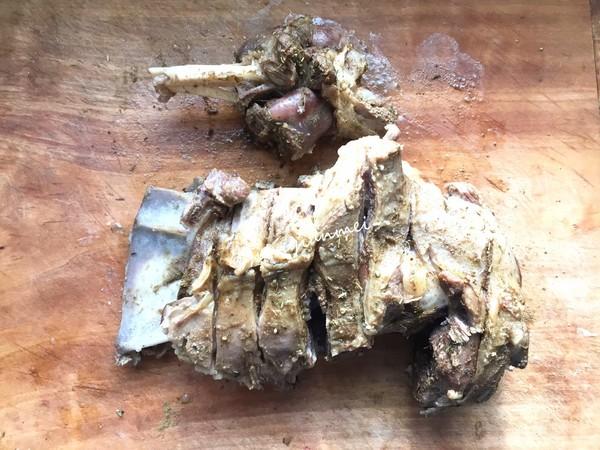 年夜饭硬菜之孜然烤羊腿的家常做法
