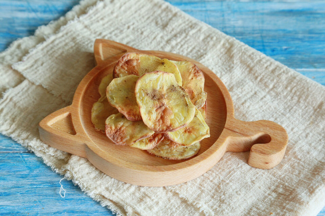 #美的电烤箱#香脆孜然味薯片怎么做