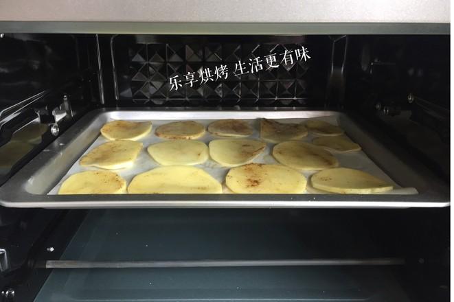 #美的电烤箱#香脆孜然味薯片怎么吃