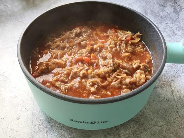 番茄肥牛饭 鲜美好滋味怎么煮