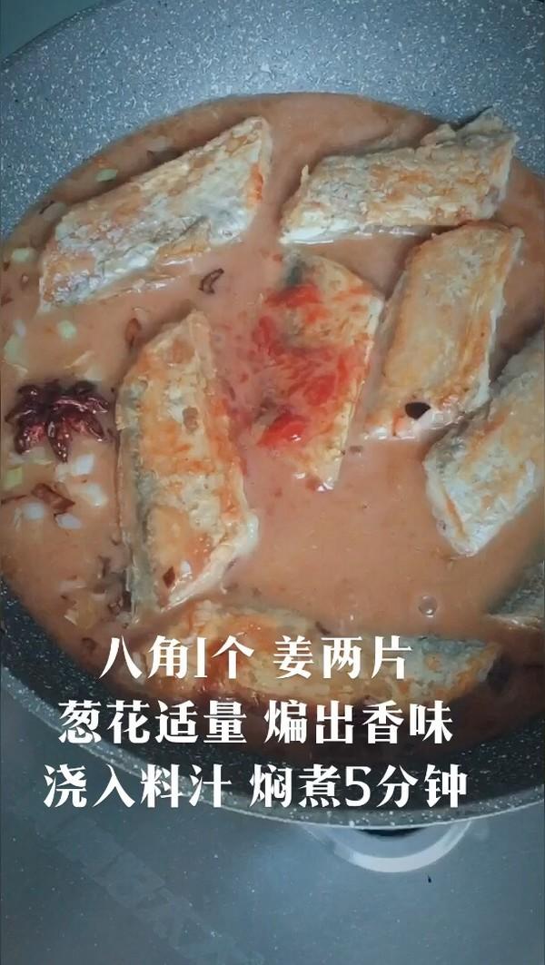 鲜香烧带鱼的简单做法