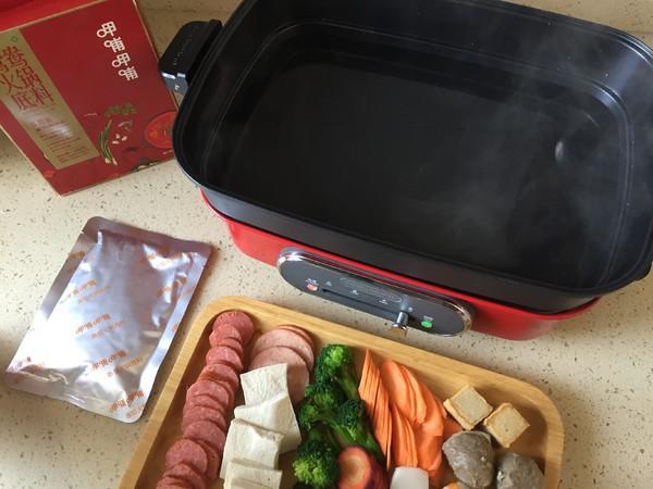 冬天最爱的暖胃羊肉番茄火锅的家常做法
