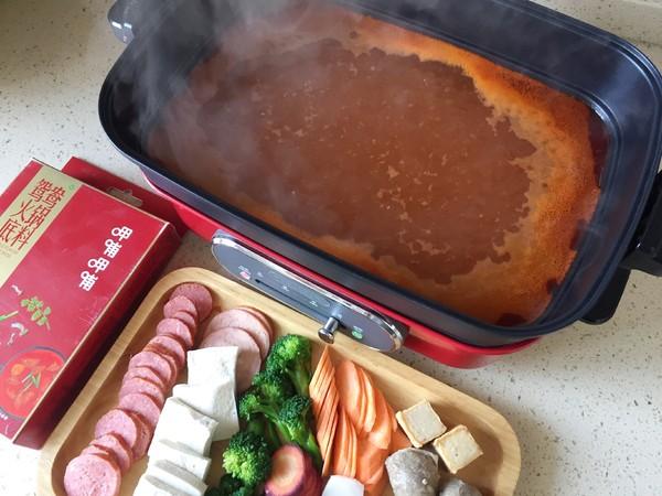 冬天最爱的暖胃羊肉番茄火锅的简单做法