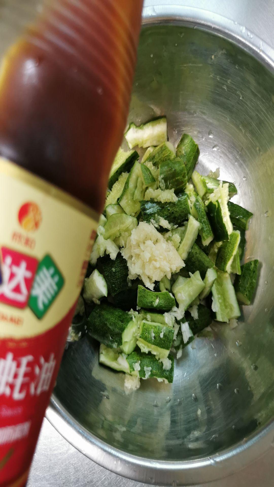 清拌黄瓜的家常做法