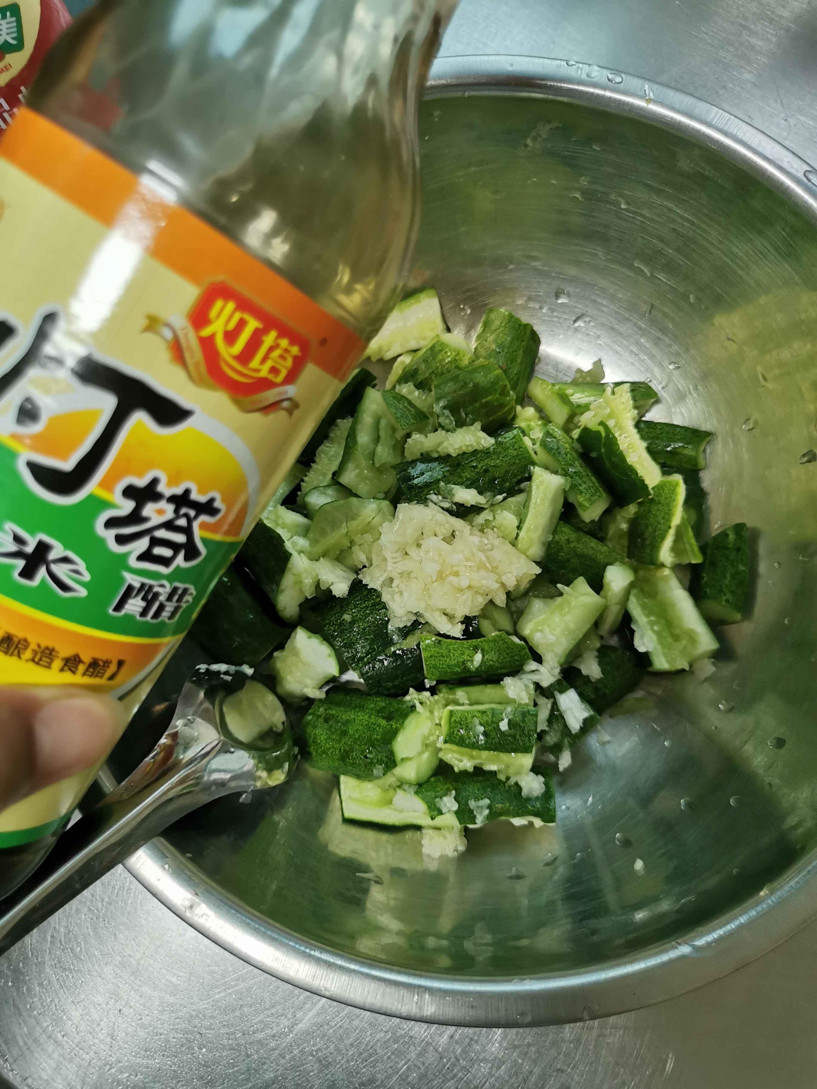 清拌黄瓜怎么吃