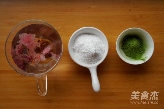 樱花水信玄饼的做法大全