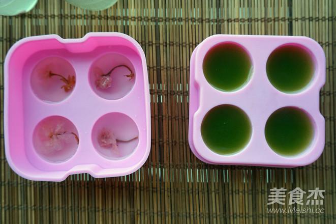 樱花水信玄饼怎么吃