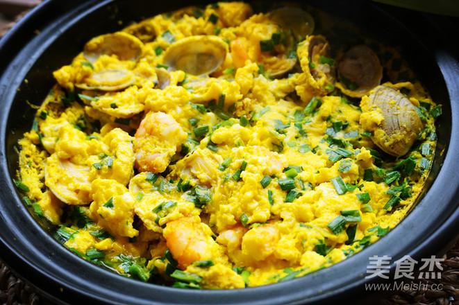 韭菜海鲜煎蛋怎么做
