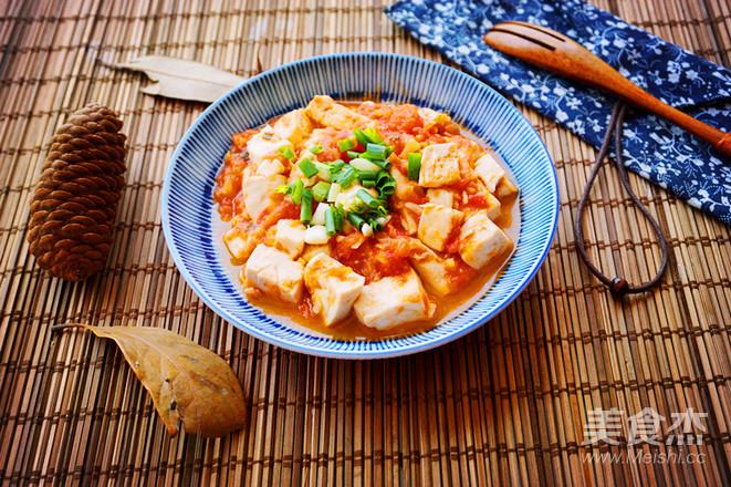 西红柿豆腐的简单做法