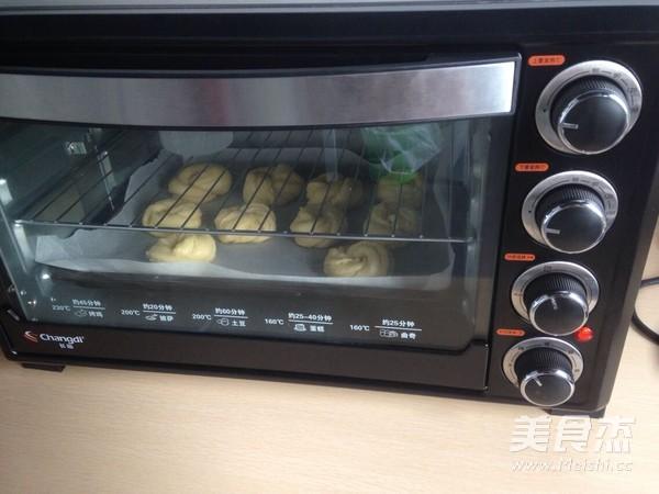 椰蓉早餐包的制作