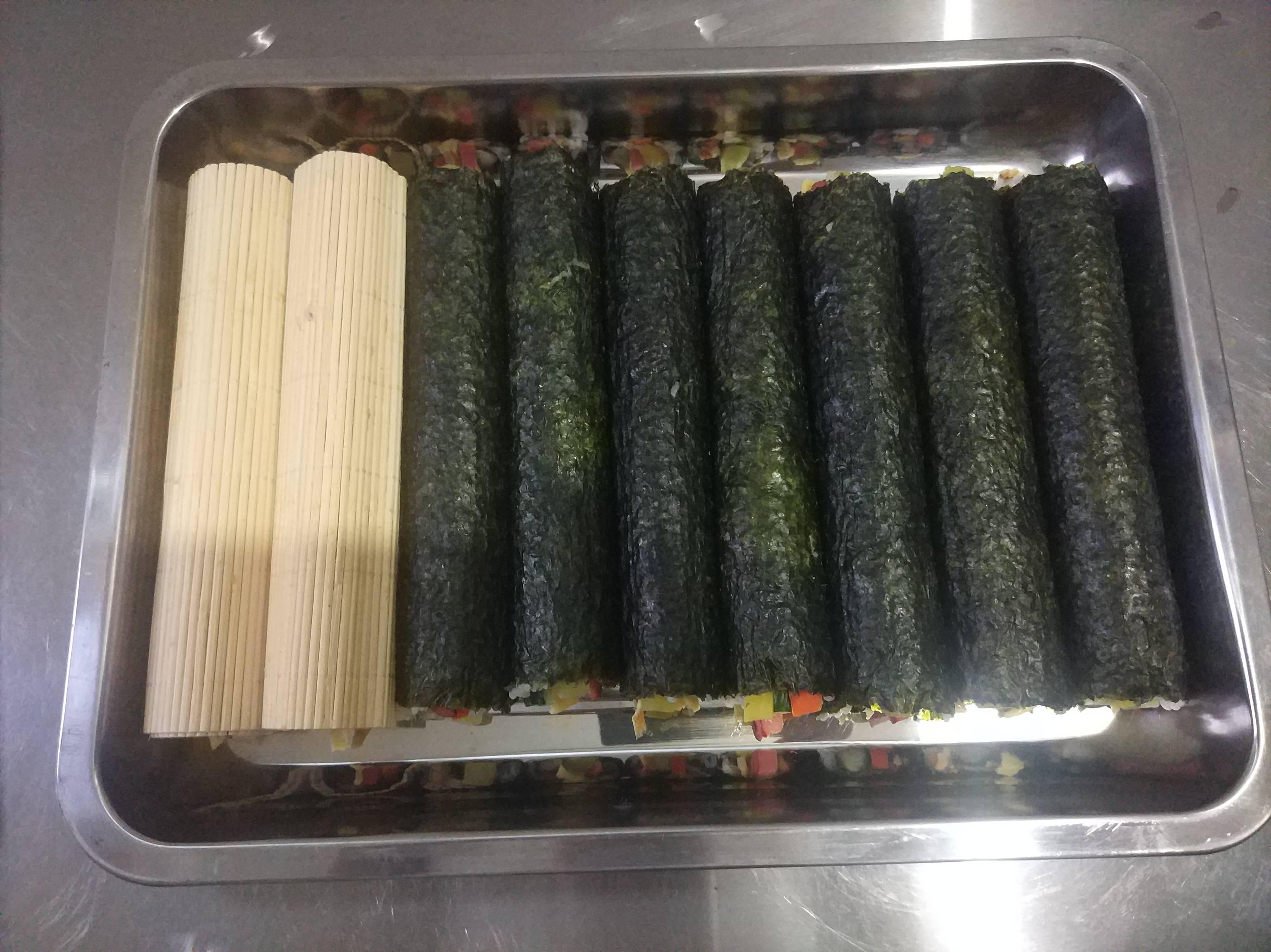 紫菜寿司卷怎么做