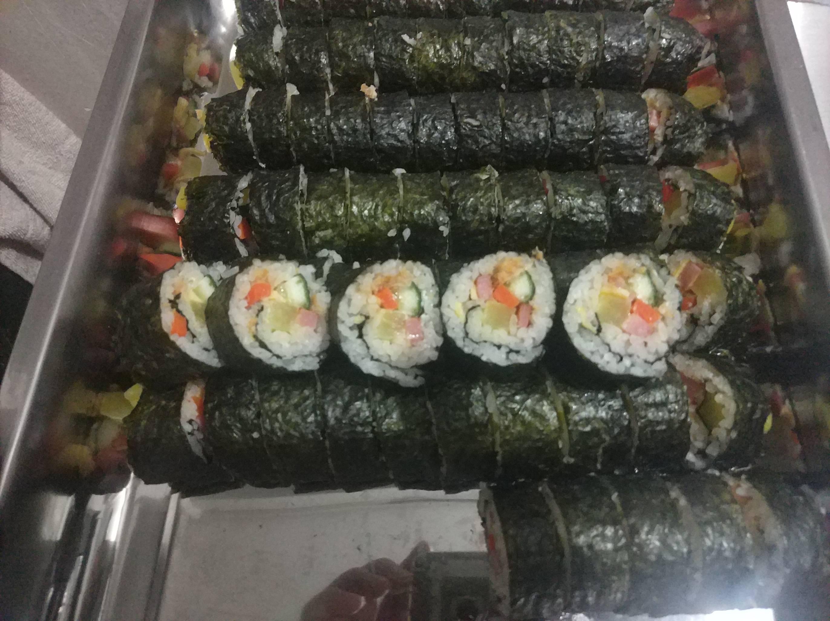 紫菜寿司卷怎么炒