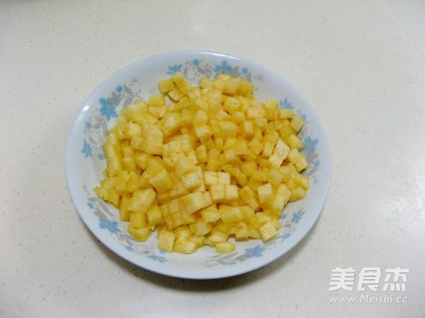 菠萝培根炒饭的简单做法