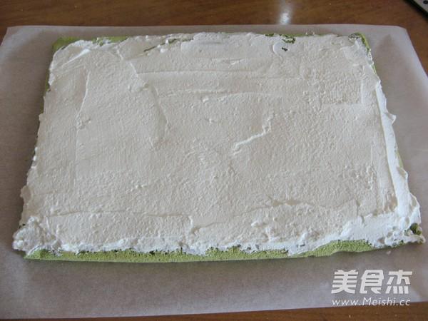 抹茶奶油戚风蛋糕卷的制作大全