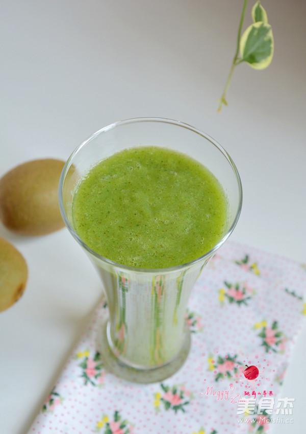 猕猴桃黄瓜汁怎么吃