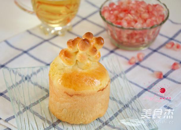 珊瑚小面包的制作方法