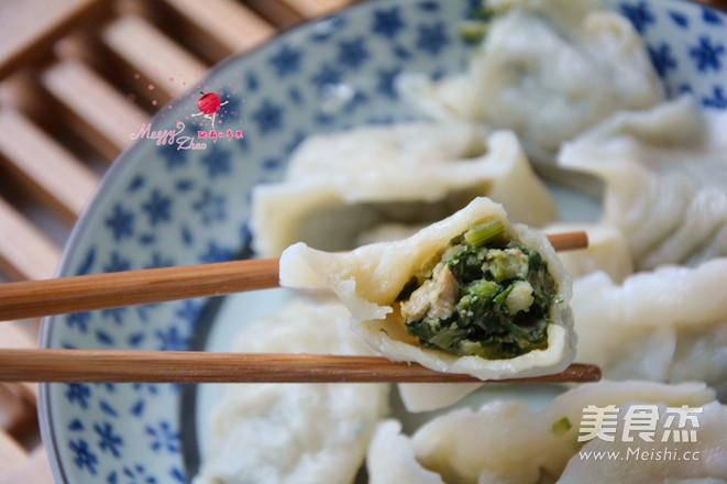 猪肉芹菜水饺怎么煸