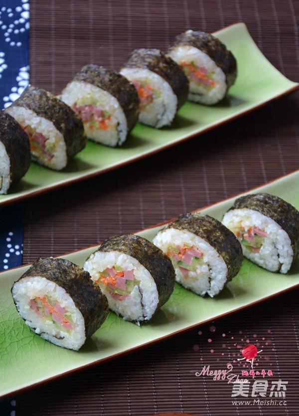 寿司怎么炒