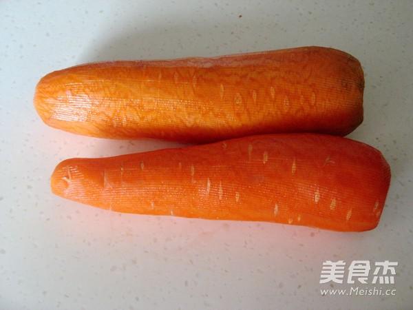 花式蒸饺之胡萝卜汁蒸饺的做法大全