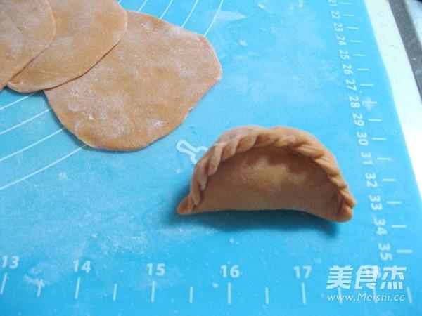 花式蒸饺之胡萝卜汁蒸饺的制作