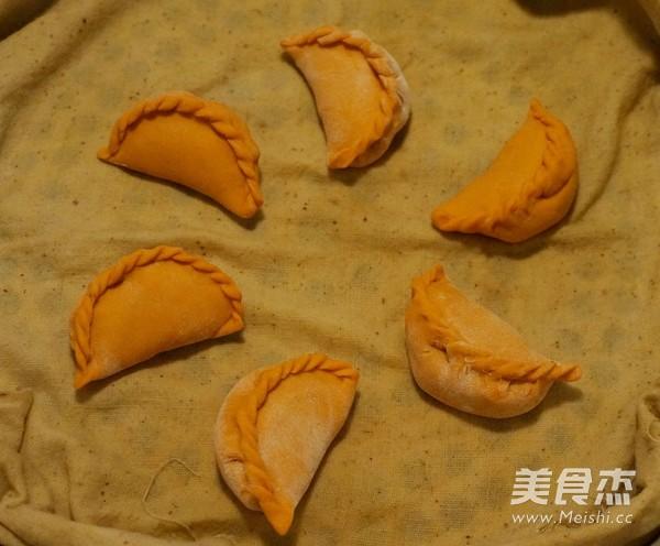 花式蒸饺之胡萝卜汁蒸饺的制作大全