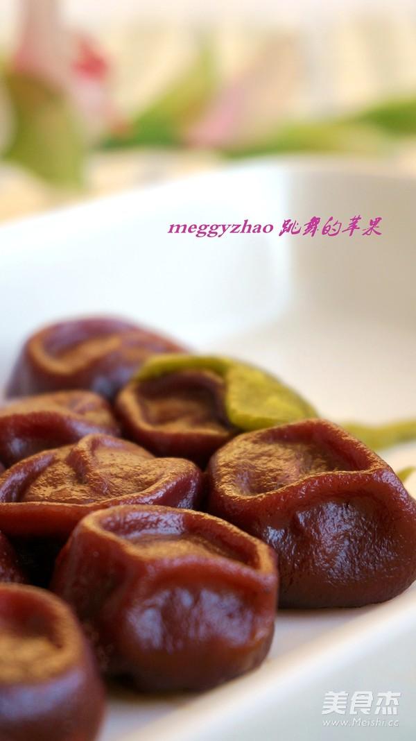 花式蒸饺之紫葡萄蒸饺的制作方法