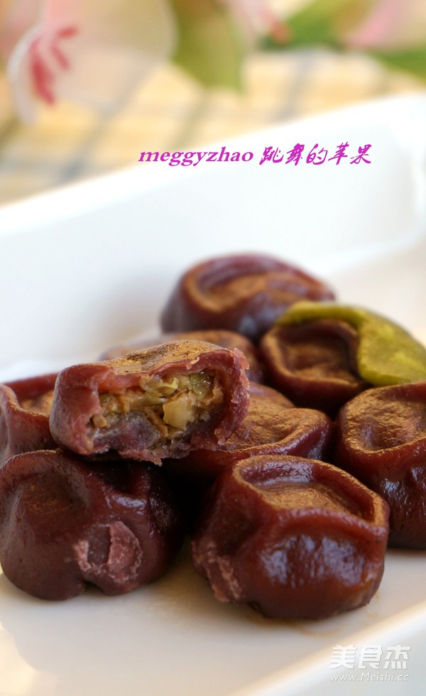花式蒸饺之紫葡萄蒸饺的制作大全