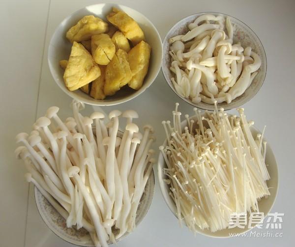 猪骨菌菇火锅的做法图解