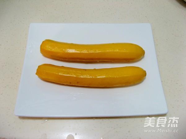 香蕉西葫芦小盆栽的做法大全