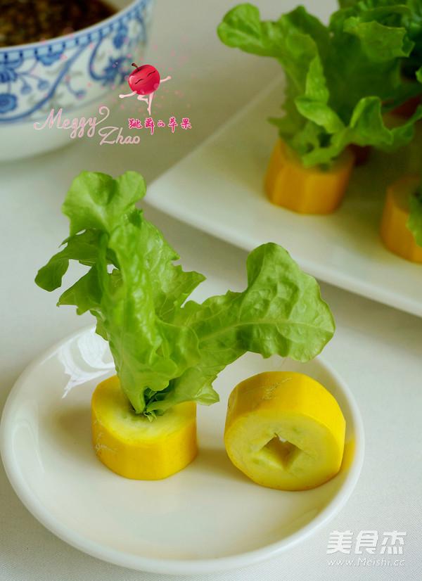 香蕉西葫芦小盆栽怎么炒