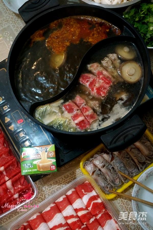 鸳鸯火锅怎样煮