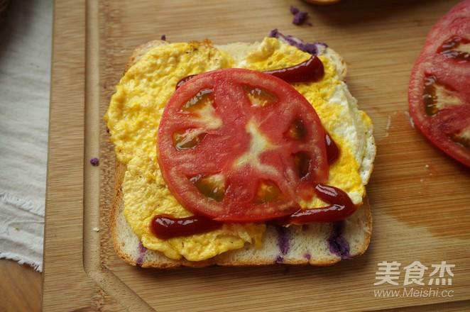紫薯面包的制作