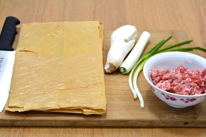 豆腐皮肉卷的做法大全