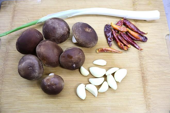 牛肉香菇香辣酱的家常做法