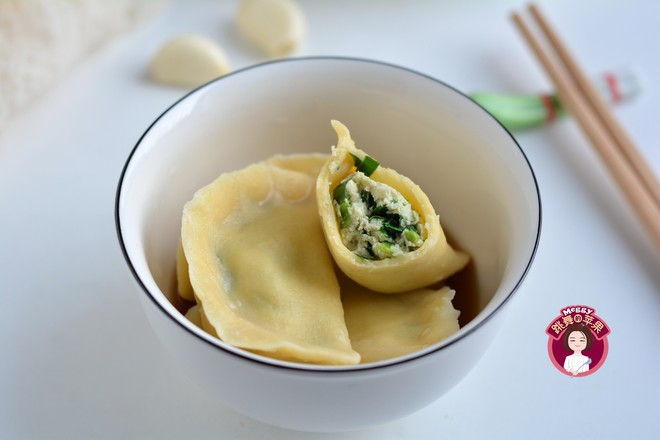 韭菜豆腐猪肉饺子怎么炒