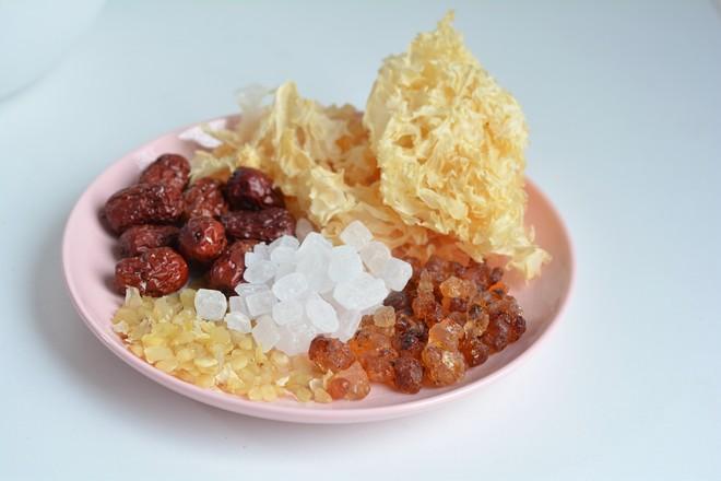 桃胶银耳皂角米羹的做法大全