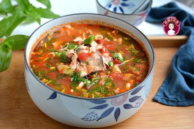 开胃酸汤鱼成品图