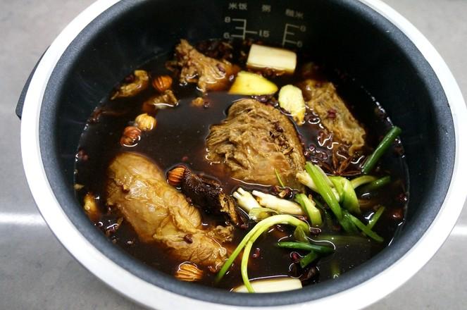 凉拌卤牛肉的简单做法